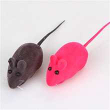 Soft False Mouse Cat Dog Toy Interactive Mouse Funny Gatos Pelucia Animal Pets Supplies Stuffed Toy Product For Kittens QQM2170