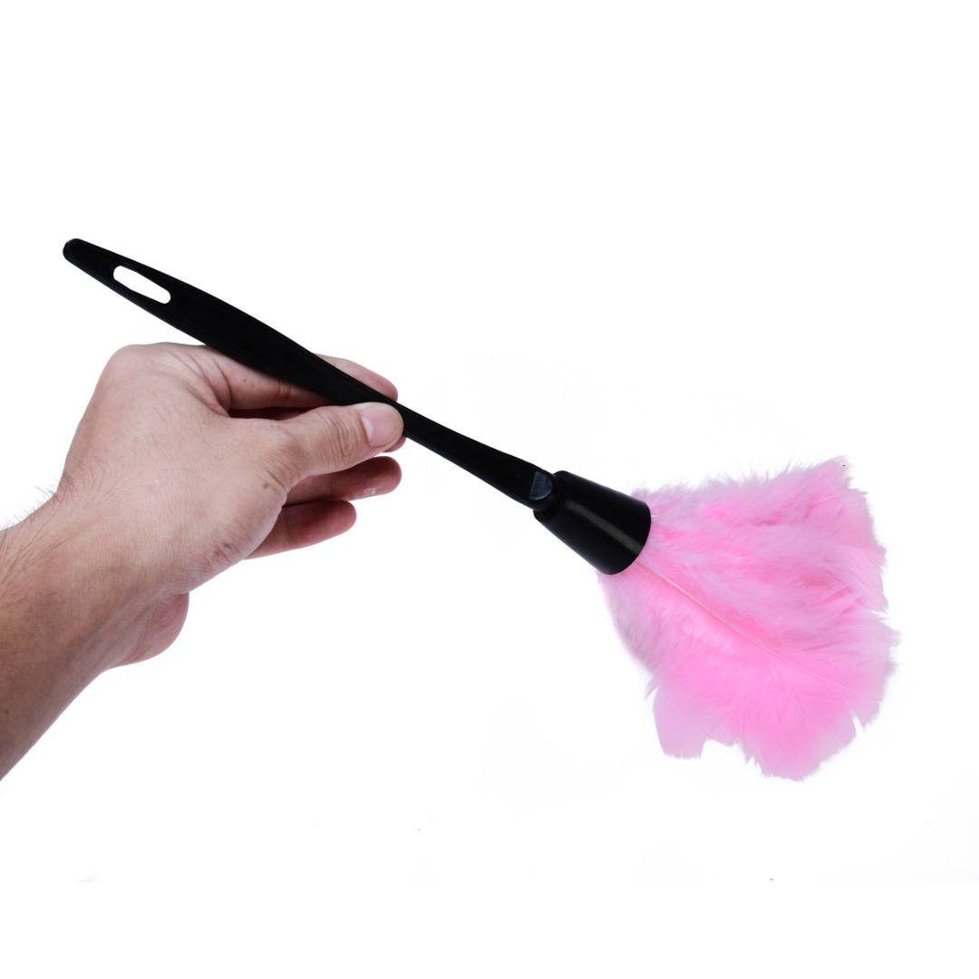 Feather Duster Multicolor Household Dusting Brush Furniture Cleaner Household Cleaning Tool Kitchen Accessories