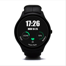 Crcular Shape NO.1 D5 Android 4.4 Bluetooth GPS Smart Watch with Heart Rate Monitor Google Play + GPS 4G ROM 512M RAM SmartWatch