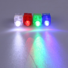 LED Finger Lights Laser Flashing Ring Light Beam Colourful Torch Light Glow Lamps Concert Decorative Props Childrens Toy