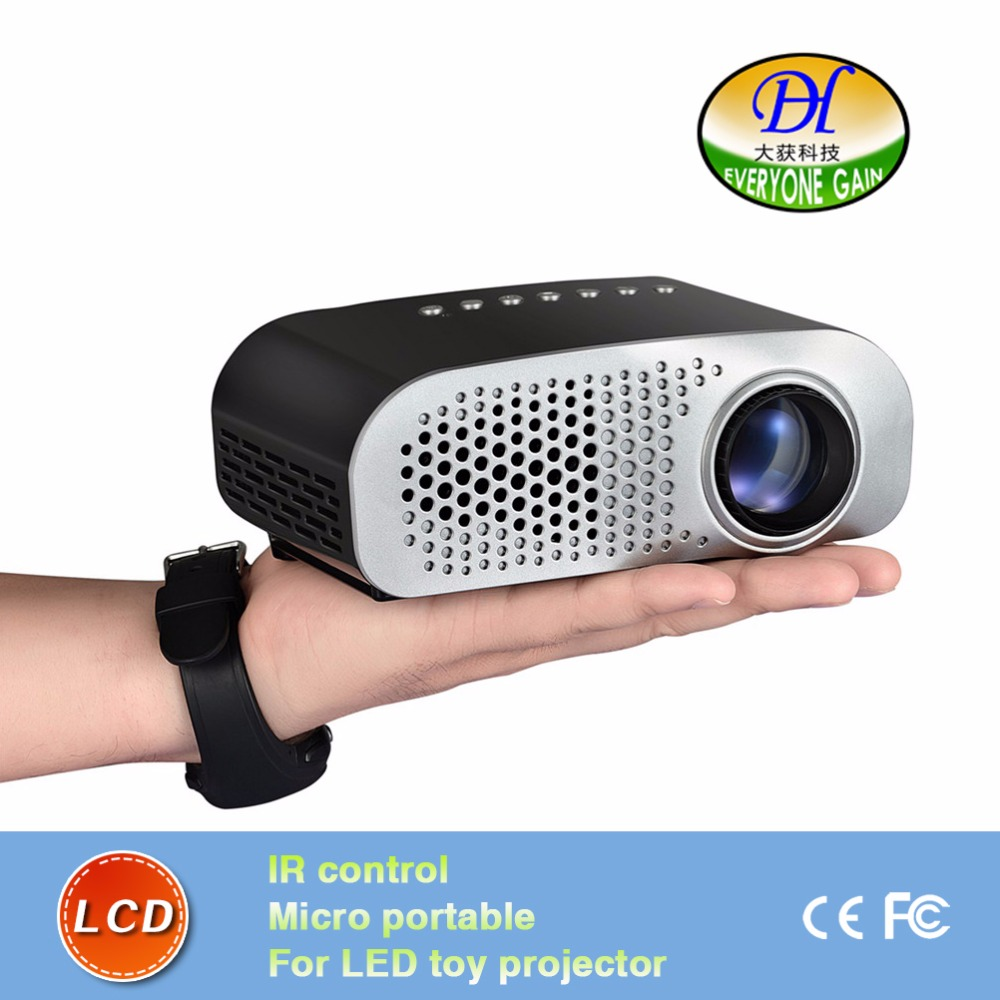 DH-mini91+ 2016 new Pocket Projector LED toy projector Multimedia Proyrctor for pre-school education<br><br>Aliexpress