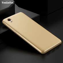YonLinTan Silicon coque,case,cover for sony xperia z3 active Silicone tpu original Luxury for sony xperia z 3 soft back gold