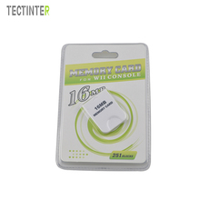 High Quality 16MB Memory Card For Wii Console White 16M Memory Storage Card Save Saver For GameCube(China)