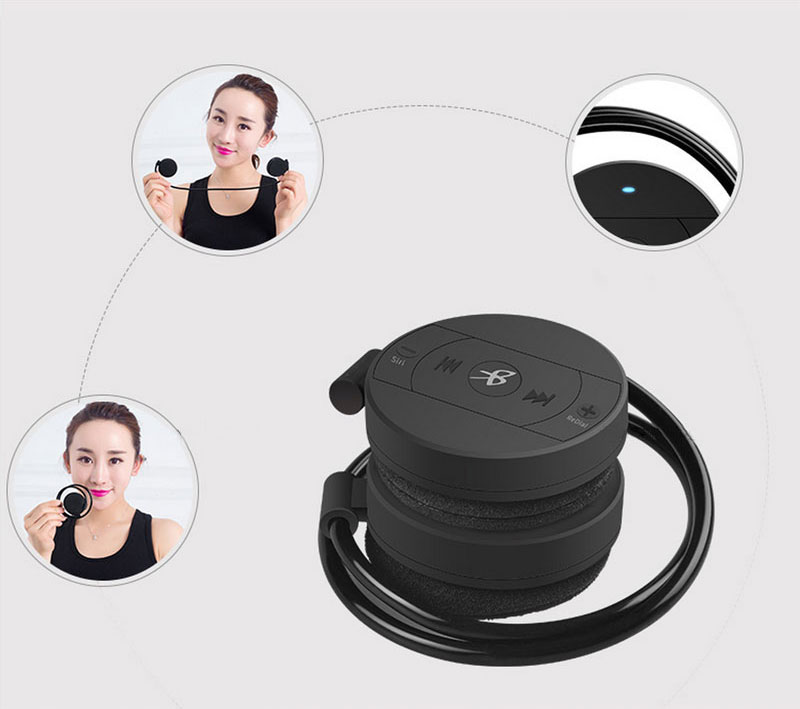 Bluetooth earphone Headphones Sport binaural Wireless Bluetooth Headset Running Stereo audifonos 11