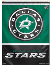 2 Color DALLAS STARS LOGO Nation American Outdoor Indoor Baseball College Flag 3X5 Custom USA Any Team Flag(China)