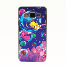 Adventure Time Is Out In Style Transparent Hard Back Cover for Samsung Galaxy A3 A5 A7 8 J5 J7 Note 2 3 4 5 Grand Prime G530
