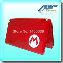 Red for n-d-s-l ds lite console shell housing case full set with small parts inside