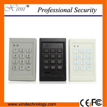 Free Shipping 13.56Mhz Card Reader Fashion Style Single Access Control Wiegand Reader F011 Smart Door Lock(China)
