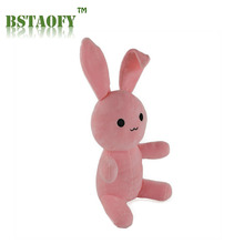 BSTAOFY Dropshipping Super Cute Pink Rabbit Soft Plush Toys Stuffed Animals Doll Kids Gifts for Children's Christmas Gift Easter(China)