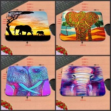 Top Selling Cool Elephant and Ducks Mouse Pad (Elephants MousePad) 18*22cm and 25*29cm And 25*20cm No Lock Gaming Mouse Pad(China)