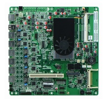 Intel Atom D2550 6 Gigabit Lan Ethernet Server Motherboard atom d525 motherboard with 6 lan