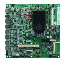 Intel Atom D2550 6 Gigabit Lan Ethernet Server Motherboard atom d525 motherboard with 6 lan(China)