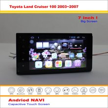 Car Android GPS Navigation System For Toyota Land Cruiser 100 / Lexus LX 470 - Radio Stereo Audio Video Multimedia No DVD Player