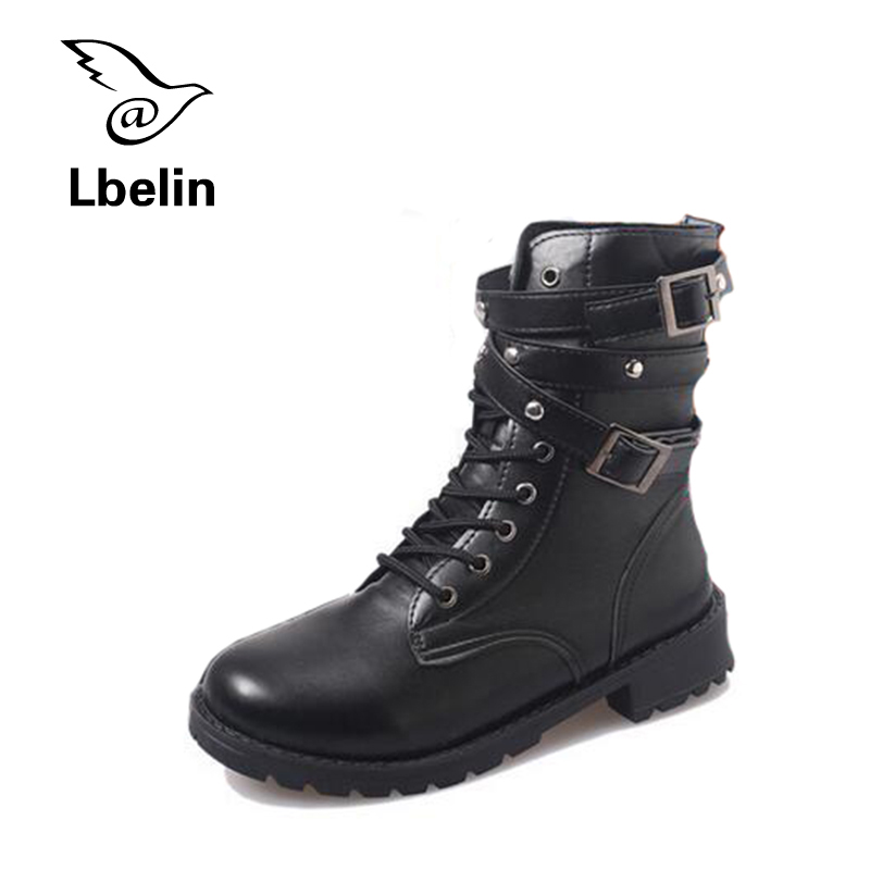 2017 Fashion PU Dr Martin Boots Fur Martin High Top Casual Shoes Women Boots Ankle Botas Brand Motorcycle Boots Plus Size<br><br>Aliexpress