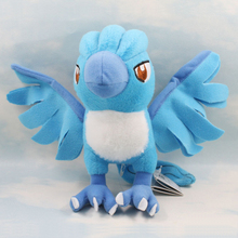 "cartoon Plush Toy 7"" Articuno Plush Toy cute Character Stuffed Animals kawaii Toys Doll for Kids Gift(China)"