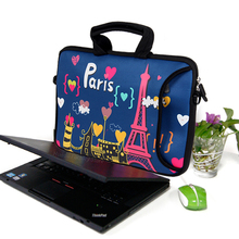 laptop bag for macbook air/pro 13 13.3 14 15 15.6 17 neoprene Laptop messenger for surface pro 4 for lenovo/asus/notebook