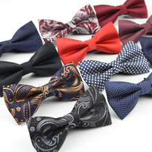 Men's Polyester Bow Ties Classic Dot Tie Men Leisure Butterfly Business Shirts Bowknot  Bowtie Cravats Accessories