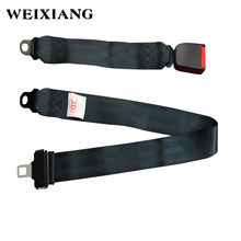 E24 Safe Certification Universal 2PT Lap Two Points Vehicle Bus Truck Seat Safety Belt Standard Buckle