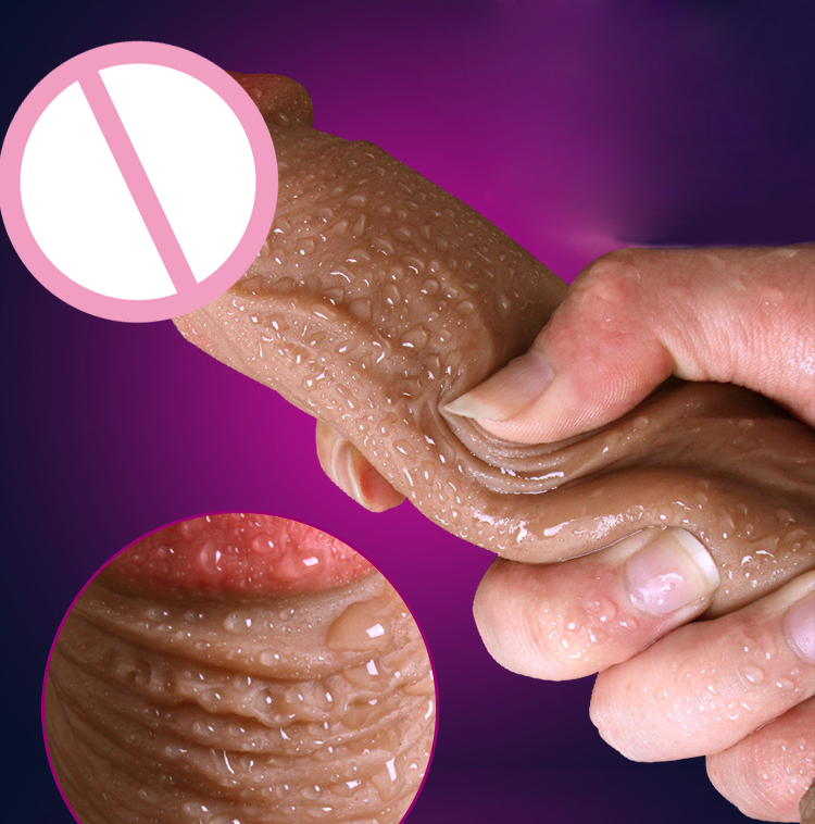 Super Realistic Soft Silicone Dildo Suction Cup Male Artificial Penis Dick Woman Masturbator Adult Sex Toys Dildos For Women 11