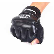 Adults/Kids Half Fingers Boxing Gloves Luva De Boxe Muay Thai/Boxeo/MMA/Taekwondo Sandbag Punch t0261DNBO