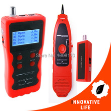 Digital Multipurpose LCD Cable Network Testing Coaxial Telephone USB Cable Twin Twisted Wire Tracer Metal Cable Tester
