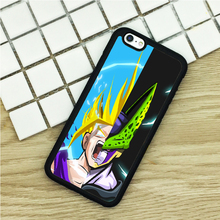 TPU Phone Cases For iPhone 6 6S 7 Plus 5 5S 5C SE 4 4S ipod touch 4 5 6 Cover Shell Dragon Ball Z Villain Power Up Rage printed(China)