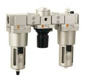 G3/4 XAC4000-06 FRL(Filter regulator lubricator) air Combination SMC constitution<br>