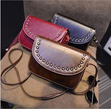 Rivets Shoulder To Buy 2017 New Tide Aslant Package To Restore Ancient Ways Small Package Mini Cute Little Crossbody Bag