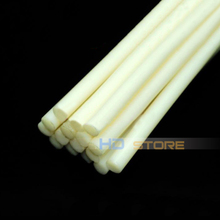 7MM*27CM high temperature Patience Milky Thermosol Hot melt plastic strips Hot melt glue stick Hot melt adhesive(China)