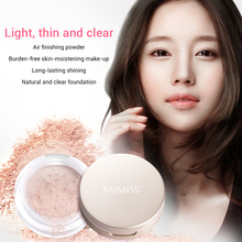 BAIMISS  Loose Powder Long-lasting Brighten Concealer Natural Face Makeup Beauty