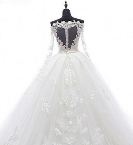 Real-Image-Detachable-Skirt-Wedding-Dress-2017-Vintage-Vestido-De-Noiva-Long-Sleeves-Handmade-Bridal-Gowns (4)