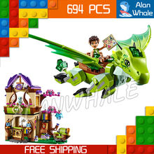 694pcs New The Secret Market Place Building Brick Blocks Model Gifts Kit Playset Toys Compatible With Lego Elves(China)