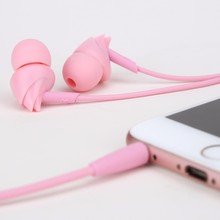 Smartphone Earphones Original ROCK Earset Stereo Earphones For iPhone 4S 5 6 Plus Xiaomi M2 M3 M4(China)
