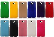 Phone Cases Ultra Slim Hard Rubberized Matte Cover Case For Huawei Y7 Cell phone Case new in stock + tracking(China)
