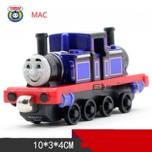 Double Face MAC One Piece Diecast Metal Train Toy Thomas and Friends Megnetic Train The Tank Engine Toys For Children Kids Gifts