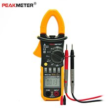 PEAKMETER MS2108 Multifunctional Digital Clamp Multimeter Inrush Current Resistance Capacity Frequency Voltage Current Tester