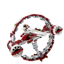 845Pcs 05121 lepin Star Wars series superfast starfighter plane Building locks Bricks the toys Model 75191 for children toys(China)