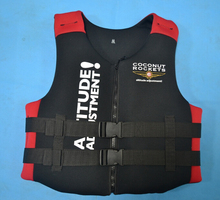 Best quality adult and kids life jackets life vest life-saving 100% NEOPRENE bear the weight of 50-120 kg surfing fishing vest(China)