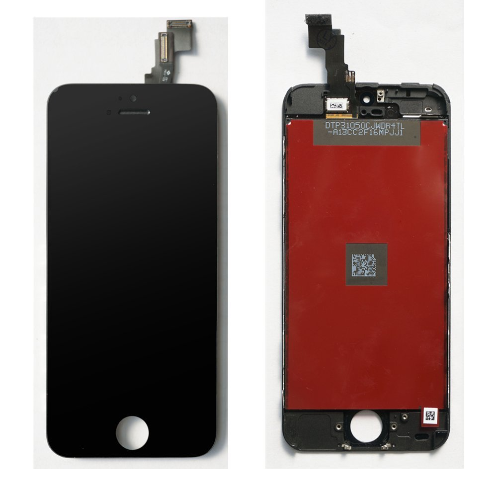 For Apple Iphone 5C Screen Glass Replacement Digitizer + LCD Black Color<br><br>Aliexpress