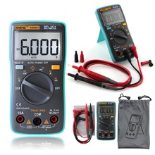 ANENG AN8000 AN8001 AN8002 AN8004 Auto Digital Multimeter Backlight AC/DC Transform Ohm Ammeter Resistance Capacitance Test T10(China)
