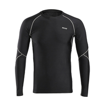 Buy Warm UP Cycling Base Layer Sports Underwear Long Sleeve Compression Tight Cycling T-shirt Gym Fitness Weight Lifting Shirts for $17.89 in AliExpress store