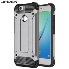 JFWEN For Funda Huawei Nova Case 5.0 inch Cover Heavy Dual Layer Defender Armor Hard Phone Cases For Huawei Nova Cover Case Back(China)