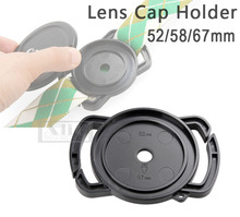 DSLR Camera Lens Cap Keeper Holder Anti-lost Cover Fits for Lens Cap 52mm 58mm 67mm Universal Accessories [No Tracking]