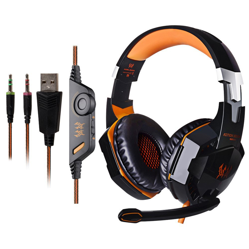 EACH G4000 gaming headset Stereo Surrounded game headphone Gaming Headphone with mic for computer<br><br>Aliexpress