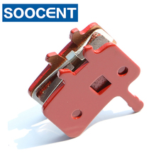 4 Pairs High Quality Red Sintered Bicycle Brake Pads for Sram Avid BB7 Juicy 3 5 7 MTB Mountain Bike Disc Brake Parts(China)