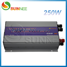 250W Wind Turbine On Grid Power Inverter AC input,built-in dump load controller,factory wholesale