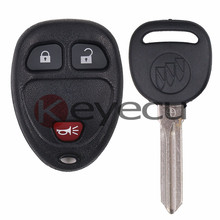 Keyless Entry 3 Button Remote Control Fob 15913420 & ID46 Transponder Key for GM FCC OUC60270,