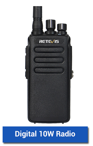 10W dmr radio two way radio walkie talkie