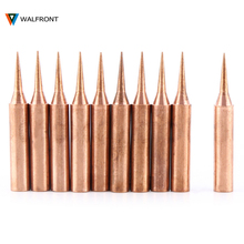 10Pcs/set 900M-T-I Soldering Iron Tip Station Solder Copper Iron Pure Low Temperature Soldering Iron Tip Tool High Quality(China)