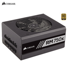 Corsair RM750x 100V-240V 750W computer Fully Modular Power Supply 750 Watts Desktop Multi-graphics card crossfire PC Gaming PSU